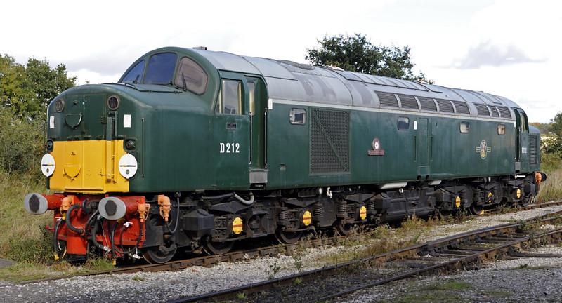 D212 Aureol, Swanwick Junction, Sun 14 October 2012