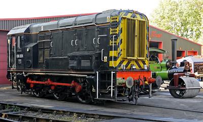 Midland Railway Centre diesels, 2012