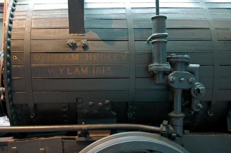 Wylam Dilly, Edinburgh, 3 May 2008 4   The boiler feed water arrangements.
