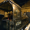 65243 Maude, National Railway Museum, York, Fri 31 January 2014.  North British Rly 0-6-0 built by Neilson in 1891.  Went overseas during the First World War, and is named after General Maude.