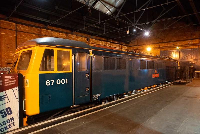 87001 Royal Scot, National Railway Museum, York, 31 January 2014.