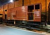 LMS 20 ton goods brake van 295987, National Railway Museum, York, 31 January 2014.  Built at Derby in 1933.