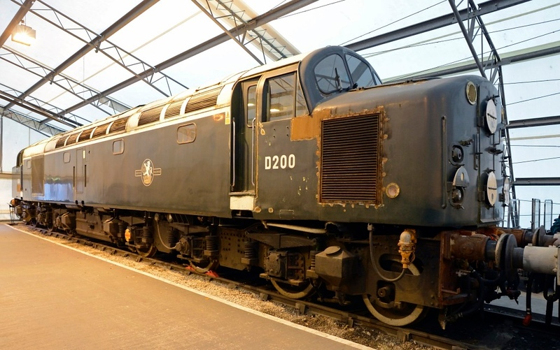 D200, National Railway Museum, York, Fri 31 January 2014