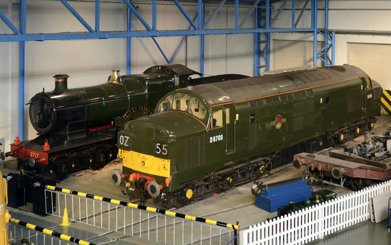 3717 City of Truro & D6700, National Railway Museum, York, 5 July 2013