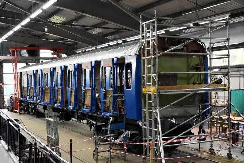 61275, Locomotion, National Railway Museum, Shildon, 26 September 2017 1.  DMBS of class 414 2-HAP 4308.