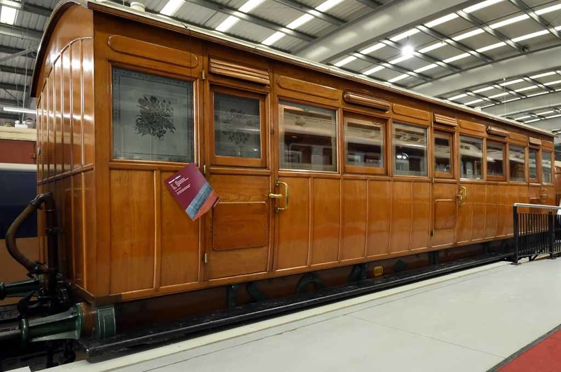 North London Railway directors' saloon, Locomotion, National Railway Museum, Shildon, 26 September 2017 1.  Built in 1872.
