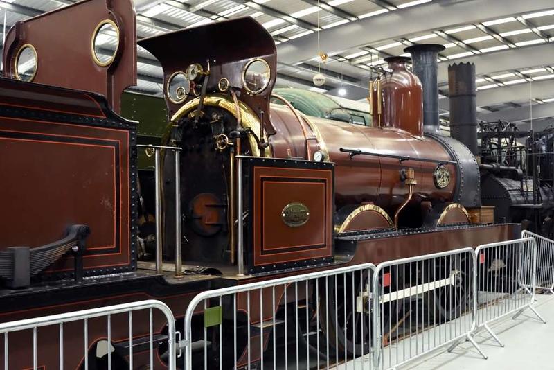 Furness Rly 0-4-0 No 20, Locomotion, National Railway Museum, Shildon, 27 September 2017.