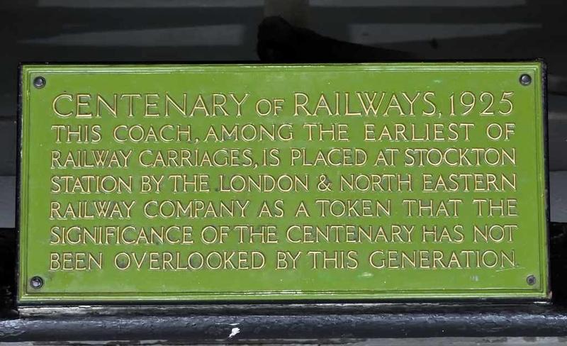 Stockton & Darlington Railway coach 31, Locomotion, National Railway Museum, Shildon, 26 September 2017 2.