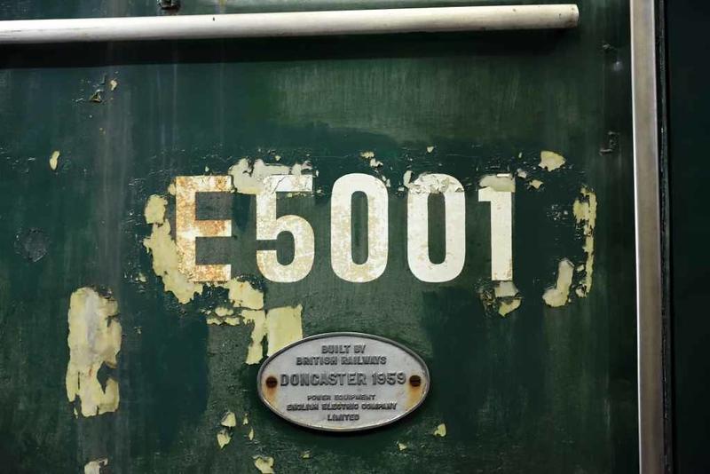 E5001, Locomotion, National Railway Museum, Shildon, 26 September 2017.