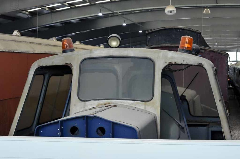 RMS Locotec H001, Locomotion, National Railway Museum, Shildon, 26 September 2017.  Sentinel 4wDH 10003 / 1959.