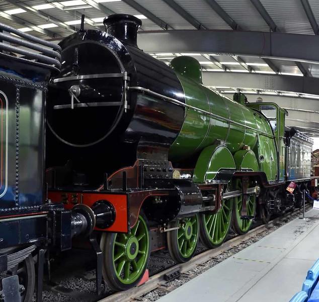 Great Northern Railway 4-4-2 No 251, Locomotion, National Railway Museum, Shildon, 26 September 2017 1.