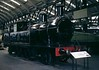 Lancashire & Yorkshire Rly 2-4-2T 1008, National Railway Museum, York, 2 October 1976.  Aspinall design, built at Horwich in 1889, the first of no fewer than 309.  Not previously on display.  Still at NRM York in 2016.  Photo by Les Tindall.