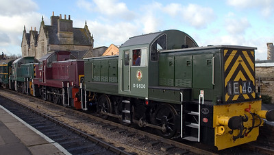 Nene Valley Railway diesels, 2007