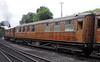 LNER 43654, Grosmont, Sat 27 July 2013.  Gresley tourist third open built at York in 1935.