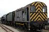 08911 & 70013 Oliver Cromwell, National Railway Museum Railfest, York, 28 May 2004