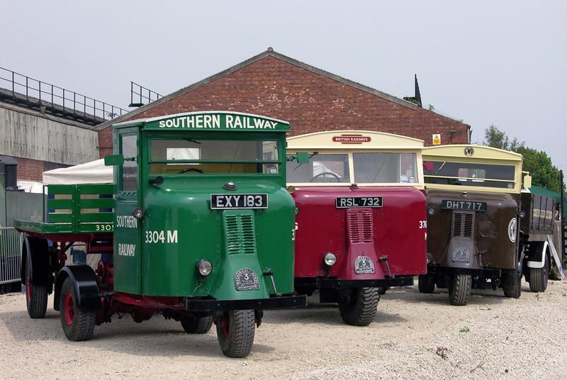 Mechanical horses, National Railway Museum Railfest, York, 28 May 2004.