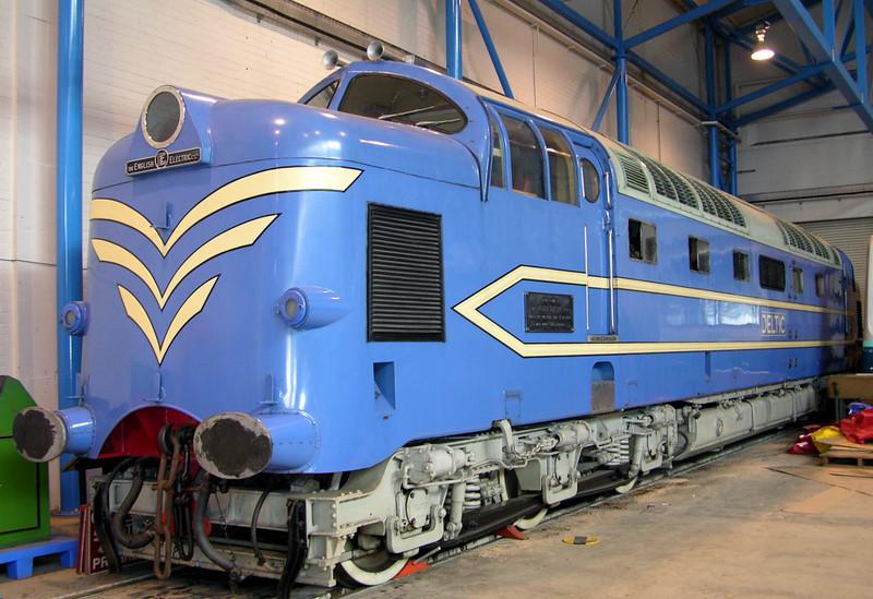Deltic Prototype, National Railway Museum, York, 28 May 2004