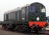 D8000, National Railway Museum Railfest, York, 28 May 2004 1
