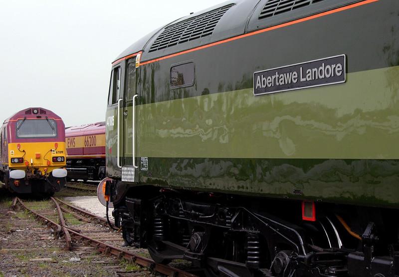 47815 / D1748 Abertawe Landore, National Railway Museum Railfest, York, 28 May 2004 3.