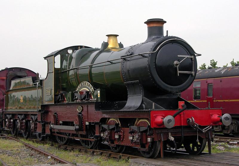 Great Western Rly 3440 City of Truro, National Railway Museum Railfest, York, 28 May 2004 1.