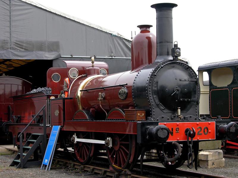 Furness Rly No 20, National Railway Museum Railfest, York, 28 May 2004 1.