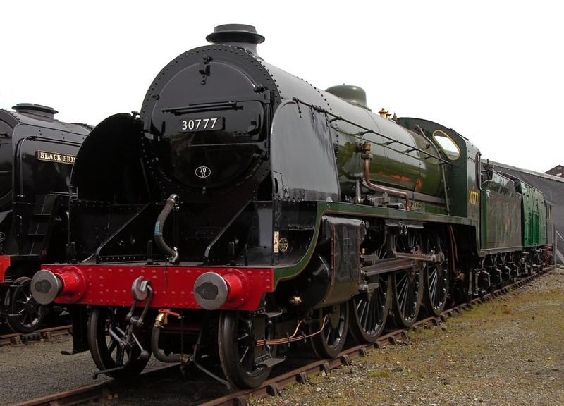 30777 Sir Lamiel, National Railway Museum Railfest, York, 28 May 2004 1.