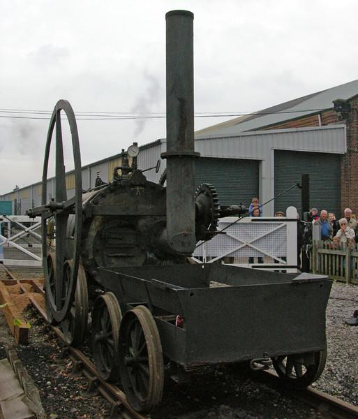 Replica of Pen-y-Darren locomotive, National Railway Museum Railfest, York, 28-29 May 2004 4.