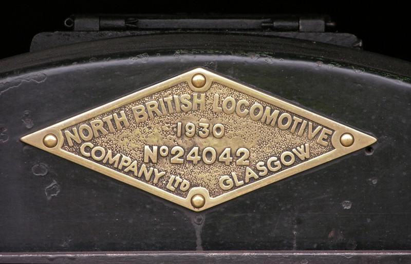 National Coal Board (ex GWR) 7754, National Railway Museum Railfest, York, 28 May 2004 2.