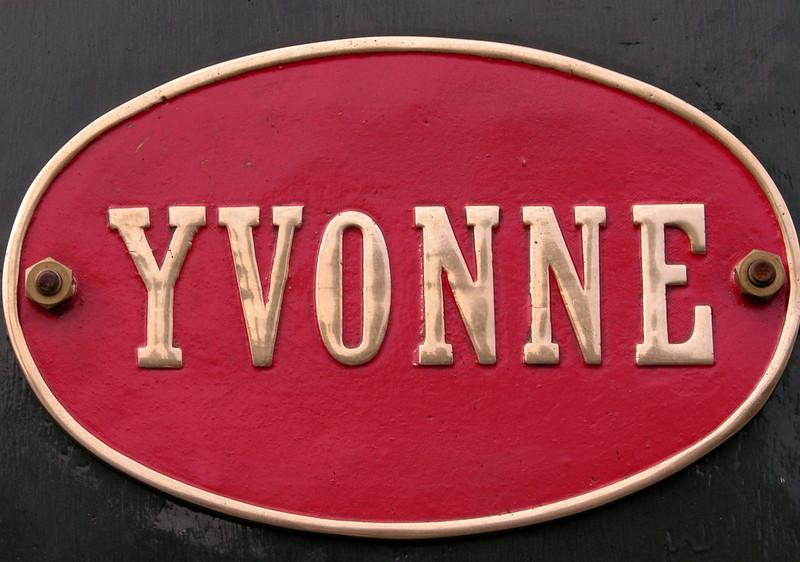 Yvonne, National Railway Museum Railfest, York, 28-29 May 2004 2.
