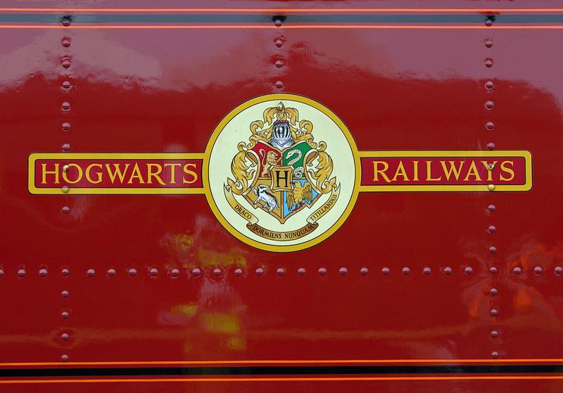 Great Western Rly 5972 Olton Hall (Hogwarts Castle), National Railway Museum Railfest, York, 28 May 2004 2.