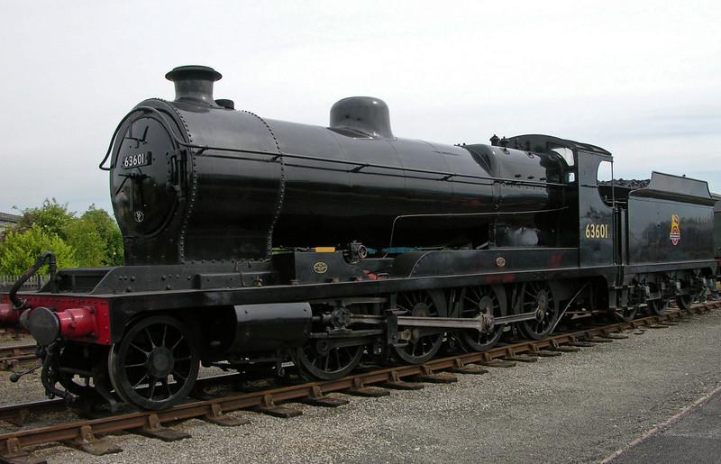 63601, National Railway Museum Railfest, York, 28 May 2004 1.