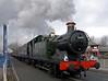5643, Docklands swing bridge, Preston, Sun 7 February 2010 - 1107    The smoke in the distance comes from Cumbria.