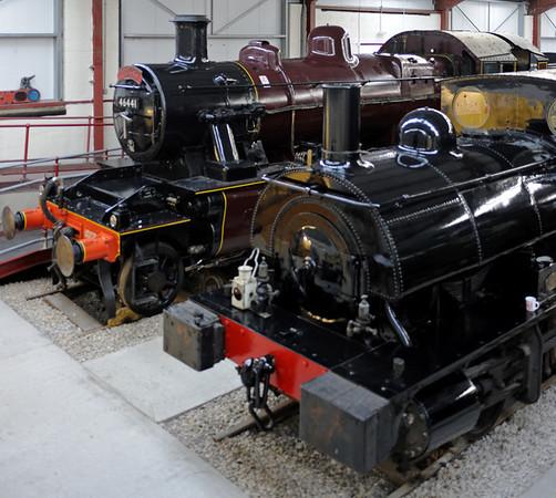 46441 & Lancashire & Yorkshire Rly No 19, Preston Riversway, Sat 18 February 2012.