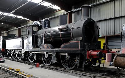 Ribble Steam Railway, 2012: Main line locos