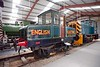 English Electric 788, Preston Riversway, Sun 17 April 2016 1.  Battery loco built in 1930 at the Dick, Kerr works at Preston.  The loco spent its entire working life at the English Electric works in Stafford, and has just received a cosmetic restoration at the RSR.  D2595 is at right.