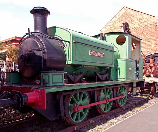 Warwickshire, Kidderminster, 25 August 2008     Manning Wardle 2047 / 1926