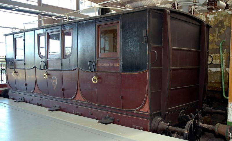 Stockton & Darlington Railway coach No 59, Locomotion, National Railway Museum, Shildon, 23 April 2005 2.