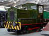 No 14, Locomotion, National Railway Museum, Shildon, 23 April 2005.  Armstrong Whitworth 0-4-0DE D21 / 1933.
