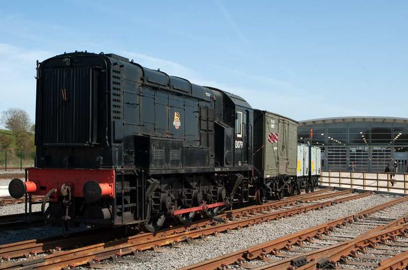 13079, Locomotion, National Railway Museum, Shildon, 23 April 2005.