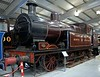 North Staffordshire Rly 0-6-2T No 2, Locomotion, National Railway Museum, Shildon, Mon 8 October 2012.  Hookham design, built at Stoke in 1923 by the NSR before that company had agreed terms for its amalgamation into the LMS.