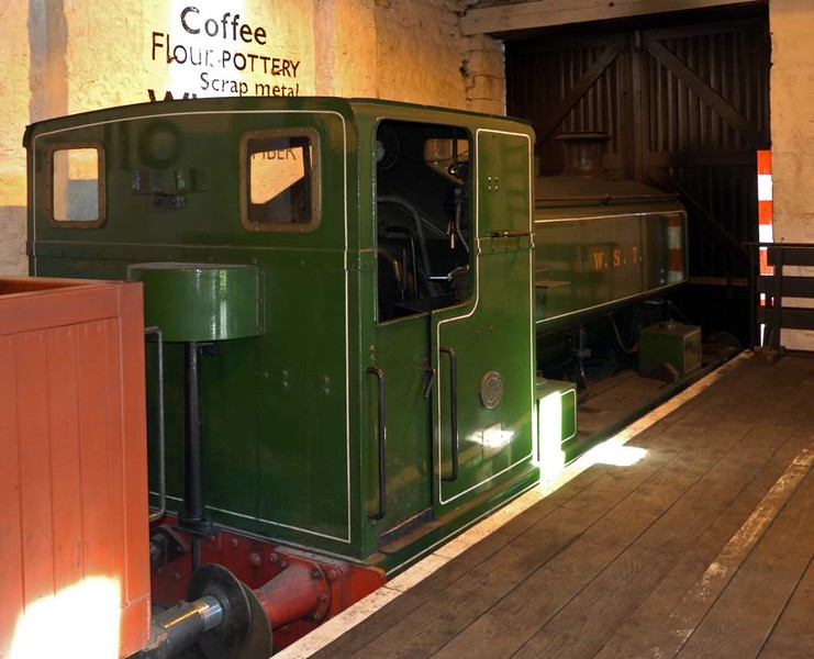 WST, Locomotion, National Railway Museum, Shildon, 23 April 2005.  Barclay 0-4-0ST 2361 / 1954.