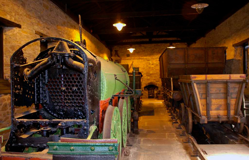 Nelson, Locomotion, National Railway Museum, Shildon, 23 April 2005.  The Soho shed is home to the remains of this 0-6-0, thought to have been built in the 1840s.