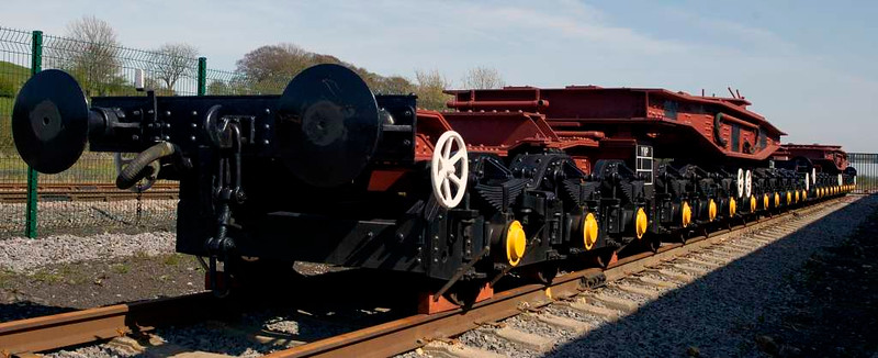 DB 902 805 / 806 / 807 / 808, Locomotion, National Railway Museum, Shildon, 23 April 2005 2.