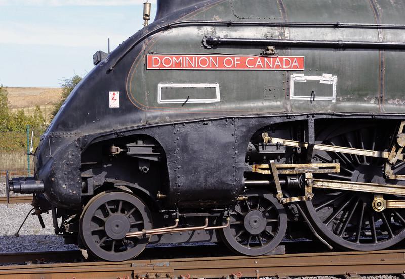 60010 Dominion of Canada, Shildon, Mon 8 October 2012.