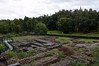 Summerlee ironworks site, Summerlee Industrial Museum, Coatbridge, 23 September 2016.  The works was in operation 1836 - 1930.  The Monkland Canal is beyond.