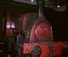 Hudswell Clarke 0-4-0ST 1672 / 1937, Carlisle power station, 9 June 1973    This loco had been transferred from Stuart Street power station, Manchester, at the beginning of June, and is seen inside the Carlisle power station shed.  Photo by Les Tindall.