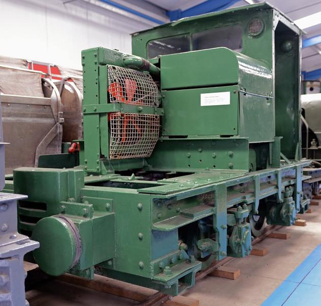 London Brick Co Motor Rail, Amberley museum, Sun 12 October 2014.  4wDM (10161 / 1950), 2ft 11in gauge.