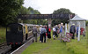 Penybont station, Thurs 25 August 2011 - 1632.  Penybont is the end of the line and the station for Bala.