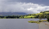 Bala Lake (Llyn Tegid), looking west, Thurs 25 August 2011.