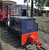No 3, Bressingham, Sun 1 September 2013.  Two foot gauge Hunslet 4wDHF 8911 / 1980.